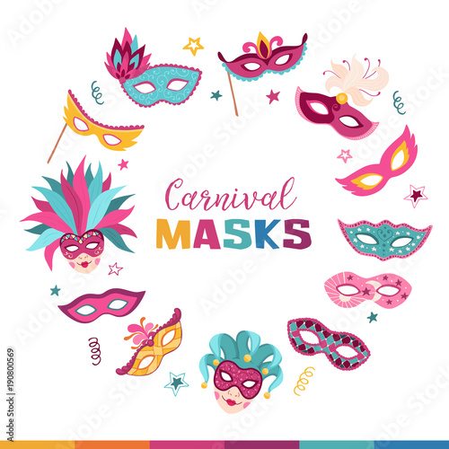 Mask Banners Logo Design Service Banners