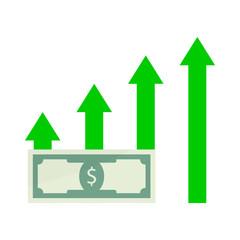 Growth salary money