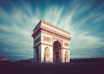 Wall Mural - Arc de Triomphe, Paris, France
