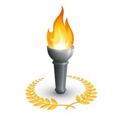 Compétition flambeau