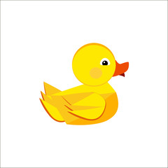 duck cute,  yellow,  play,  duck,  symbol,  icon,  animal,