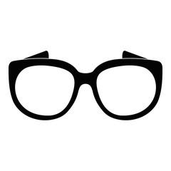 Eyeglasses for sight icon. Simple illustration of eyeglasses for sight vector icon for web