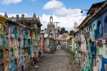 Cimetière de Quetzaltenango, Xela, Guatemala