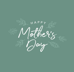 Happy Mother's Day Holiday Vector Script