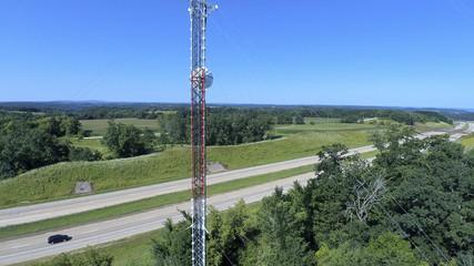 Telecom Mast - Aerial Inspection