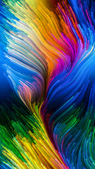 Reality of Colorful Paint