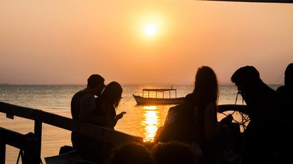 Watching the Sunset. PR,Brazil