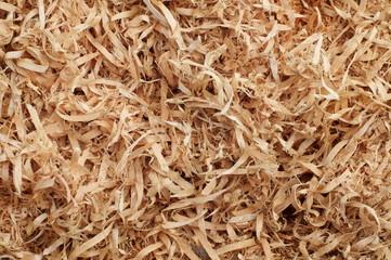 Wooden shavings background pattern