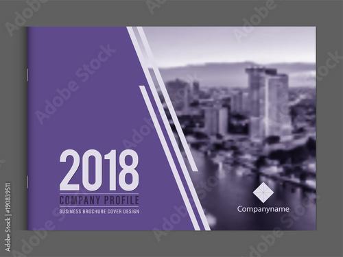 business brochure cover design template corporate company profile or