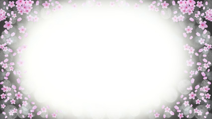 桜のバックグラウンド、春のイメージ