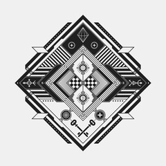 Abstract esoteric design element