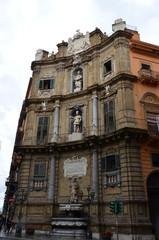 Quattro Canti in Palermo, the Four Corners Square