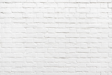 Papiers peints Brick wall Detail of a white brick wall texture