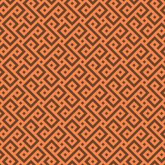 Vector Seamless African pattern.