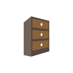 Cabinet home furnishing interior design template