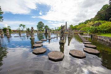 Tirta Gangga water palace, Bali, Indonesia
