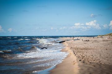 wavy on the Baltic Sea