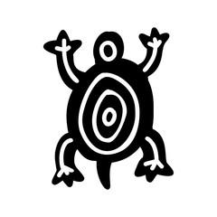 Turtle icon Aztec