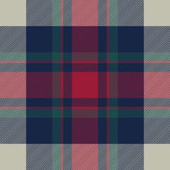Tartan check plaid diagonal fabric texture seamless