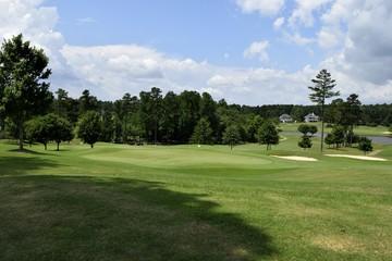 Golf course landscape