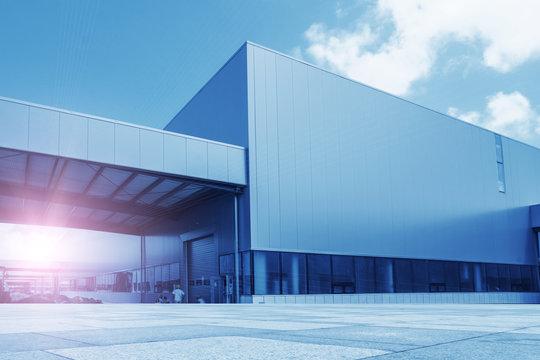 Modern factory building warehouse