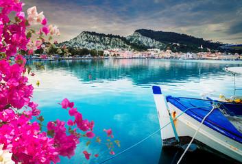 Zaante town, Zakinthos Greece Fotoväggar