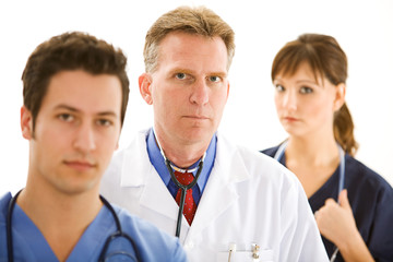 Doctors: Doctor Team Looking at Camera