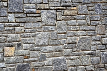 Background in the form of a gray stone wall.