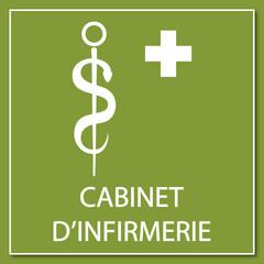 Logo cabinet d'infirmerie.