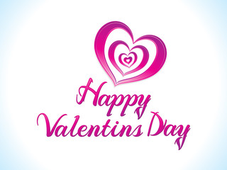 abstract artistic creative valentine day text