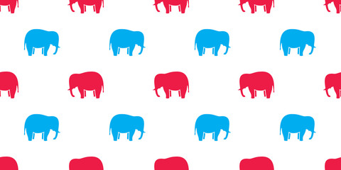 elephant seamless pattern vector isolated background wallpaper