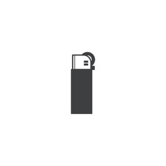 lighter icon. sign design