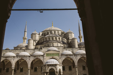 Blue Mosque in Istanbul.