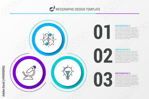 Infographic design template business concept with 3 steps stock infographic design template business concept with 3 steps cheaphphosting Choice Image