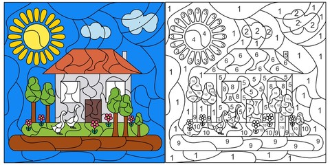 child mosaic card