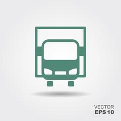 Truck icon vector.