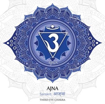 Vector of Ajna chakra