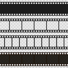Film black and white strip