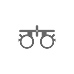 Medical ophthalmoscope icon Simple element illustration. Symbol design from Medical collection. Eye examination device. Can be used in web and mobile.