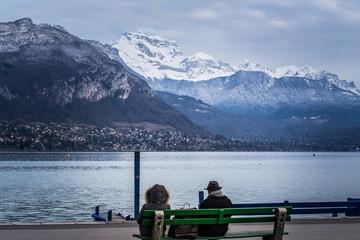 Promenade hivernale à Annecy
