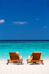 Fototapete - Tropical beach
