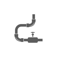 drain pipe icon. Elements of plumber icon. Premium quality graphic design icon. Signs, symbols collection icon for websites, web design, mobile app