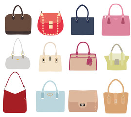 Vector Ladies Handbags