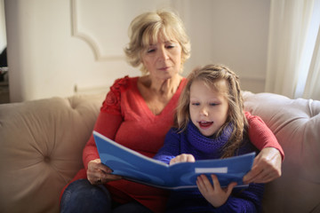 Learning with grandmother