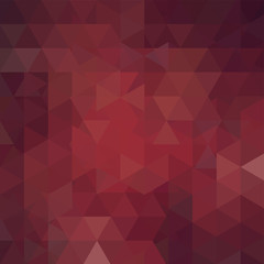 Background of brown geometric shapes. Abstract triangle geometrical background. Mosaic pattern. Vector EPS 10. Vector illustration