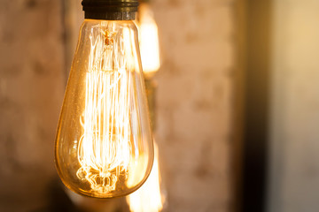 Lighting decor style Incandescent bulbs