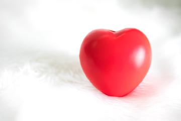 Photo sur Aluminium Graffiti collage Red Heart ,Valentines concept.
