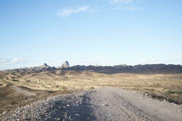 Desert Dirt Road, Imperial Desert, CA