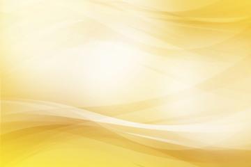 金色のウェーブ 抽象的な背景