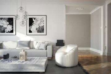 Ramgestaltung: Apartment (Konzept)